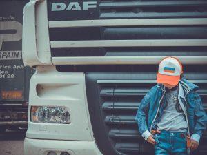Een typisch trucker event