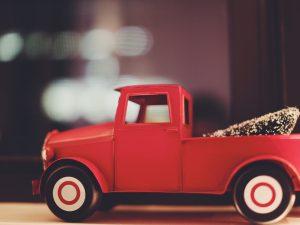 Model vrachtwagens
